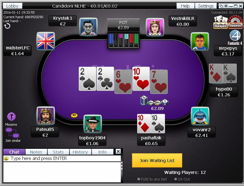 betfair_poker_bord_uden_sidegames